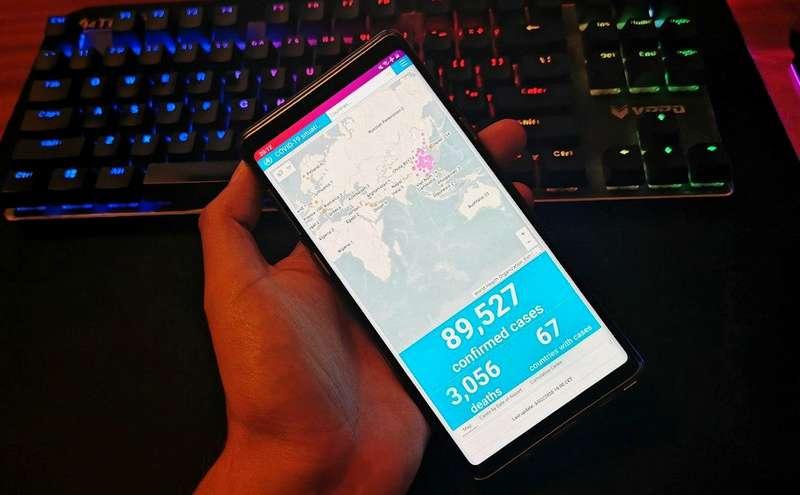 Cara Mendeteksi Virus Corona dari Smartphone (memeburn.com)