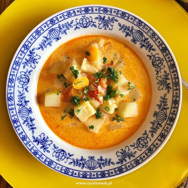 Niskowęglowodanowa zupa curry