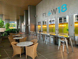 Flow 18 bar, JW Marriott Singapore Beach Road, 2021