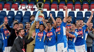 Napoli wins Italian Cup on penalties