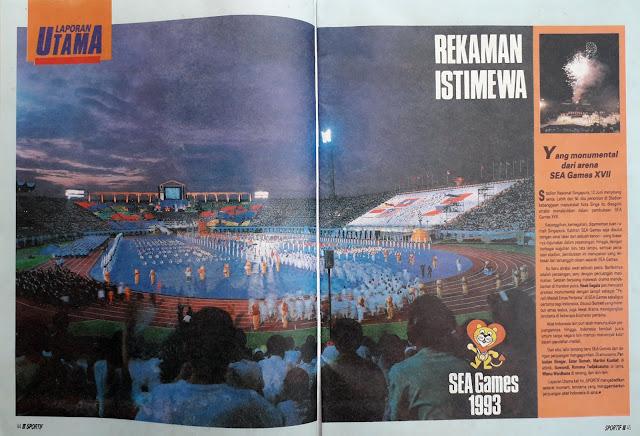 REKAMAN ISTIMEWA SEA GAMES 1993