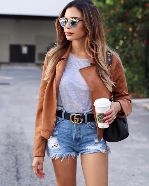 56038a5f792f Shop a similar moto jacket by H M here. Shorts  Agolde