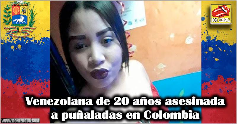 Venezolana de 20 años asesinada a puñaladas en Colombia