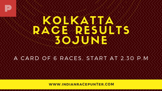 Kolkatta Race Results 30 July, free indian horse racing tips, trackeagle,racingpulse