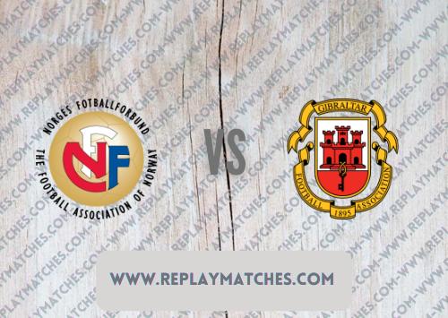 Norway vs Gibraltar -Highlights 07 September 2021