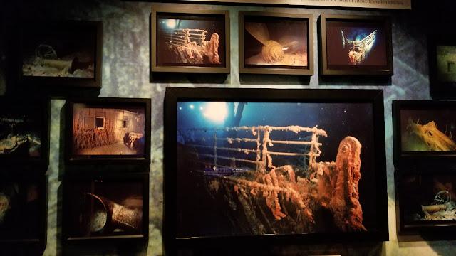 Photos of sunken Titanic