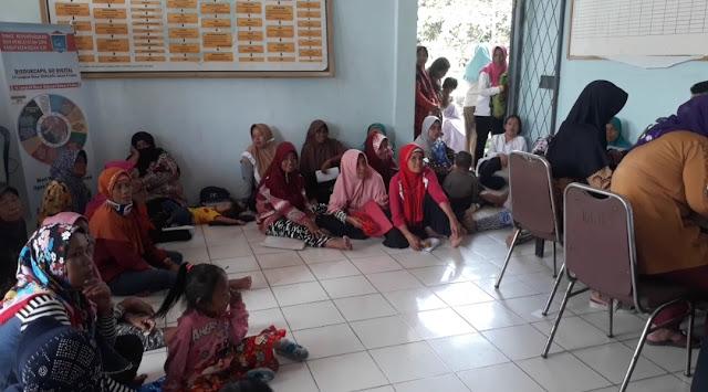 Ratusan KPM Padati Kantor Kecamatan Indralaya Utara