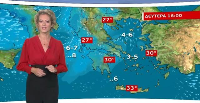 Καλός καιρός την Κυριακή - Από Δευτέρα βροχερό διήμερο (βίντεο)