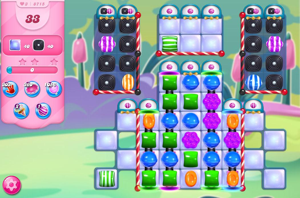 Candy Crush Saga level 8715