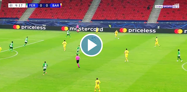 Ferencvárosi TC vs Barcelona Live Score
