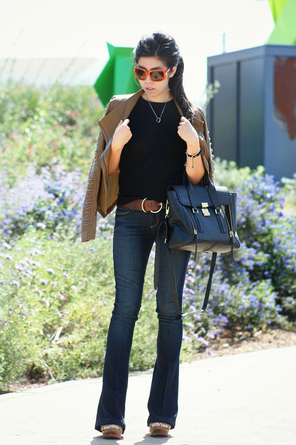 What to wear with Flare Jeans _ California Cool_ Adrienne Nguyen_Invictus_California Fashion Blogger_Orange County Fashion Blogger_Asian Fashion Blogger