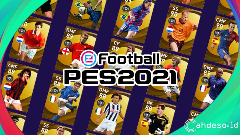 Daftar Pemain Legends eFootball PES 2021 Mobile