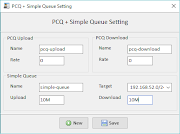 Pengaturan PCQ + Simple Queue Pada Versi 3.4.0