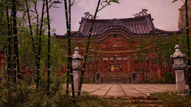 Shenmu 3's Man Yuan Temple.