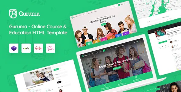 Best Online Course & Education Template