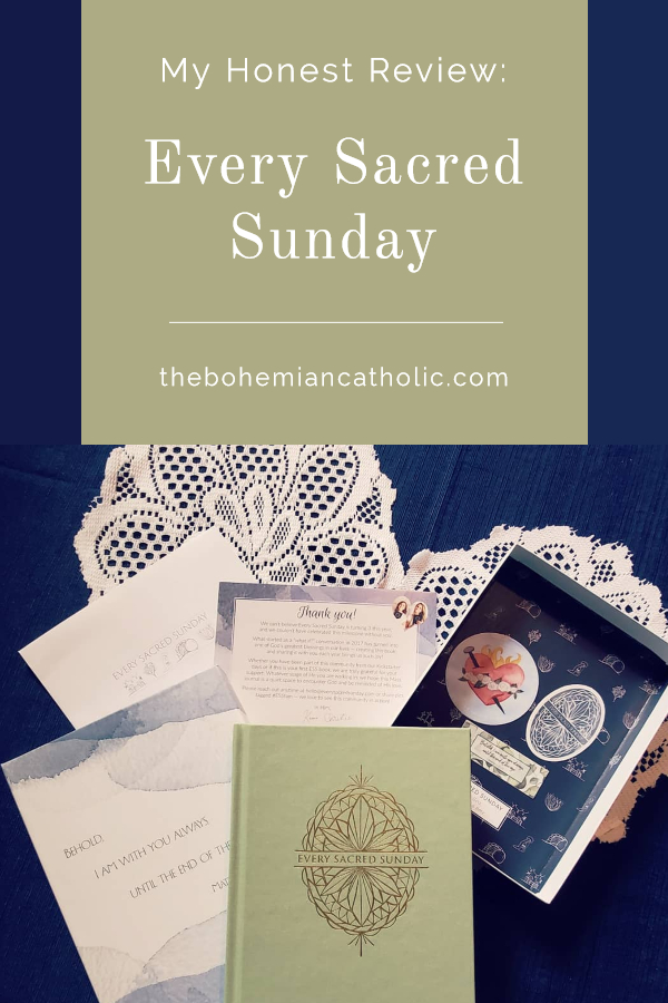 bohemian catholic honest review every sacred sunday