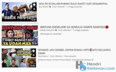 Menyikapi Artis TV Masuk YouTube | Trending Youtube Tidak Berkualitas Lagi