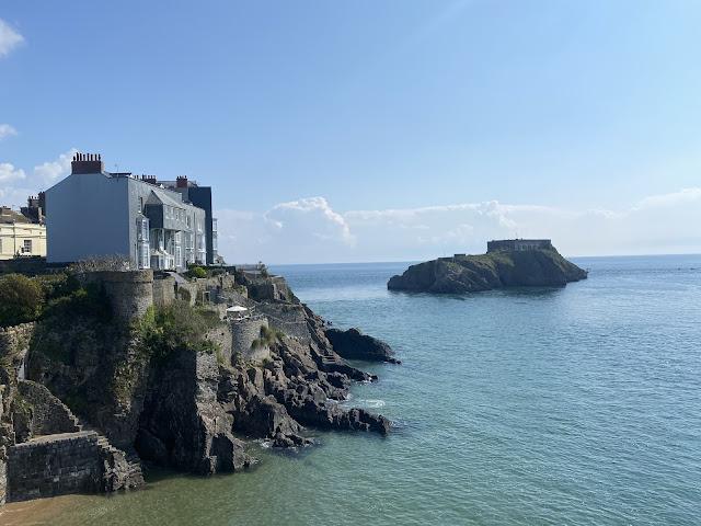 Tenby Castle Beach Wales