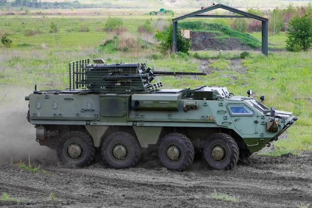 Xe bọc thép BTR-4E