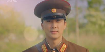 Song Seung-hoon memparodikan Crash Landing on You