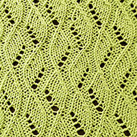 Eyelet Lace 18: Vine | Knitting Stitch Patterns.