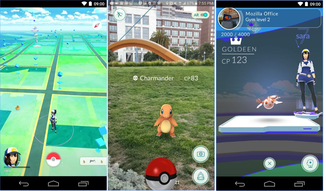 Pokémon GO - Screenshots