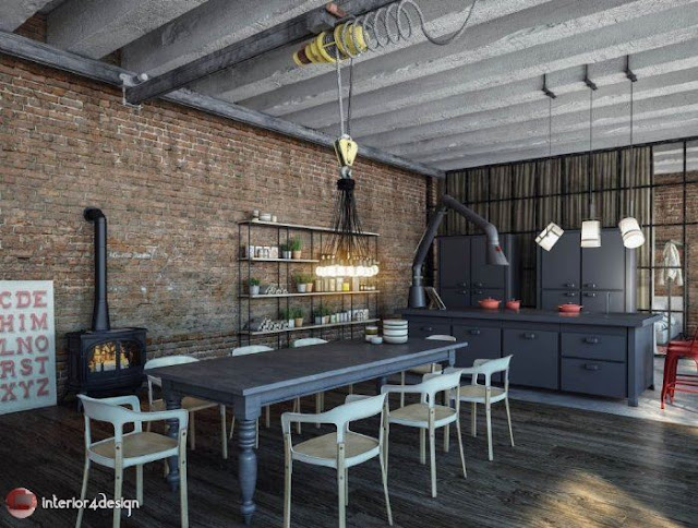Industrial Style Decor 12