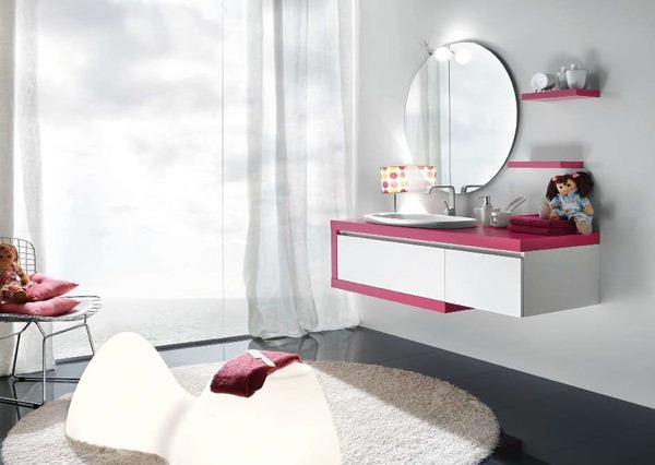 Desain Kamar Mandi Pink Cantik