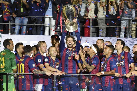 Nhà ĐKVĐ Champions League đang sở hữu quá nhiều chân sút đẳng cấp.