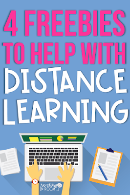 Check out these four technology-related freebies to help you transition into distance learning and asynchronous teaching. These 4 free resources have made teaching remotely more manageable.  I hope you enjoy these teacher tech tips as much as I have!