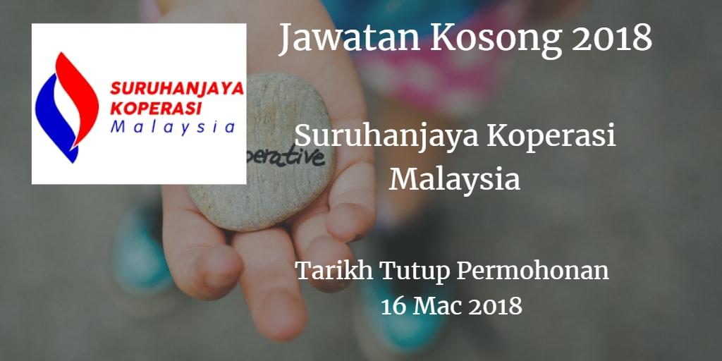 Jawatan Kosong SKM 16 Mac 2018