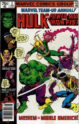 Marvel Team-Up Annual #3, Hulk, Iron Fist and Luke Cage