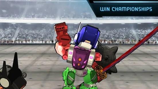 Megabot Battle Arena: Build Fighter Robot Apk Free on Android Game Download