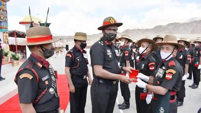 amid indo-sino row ladakhis join ladakh Scouts