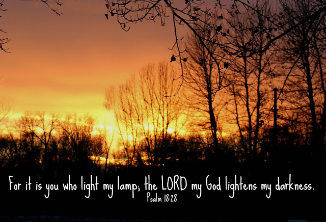 let God's light overcome the darkness in your light