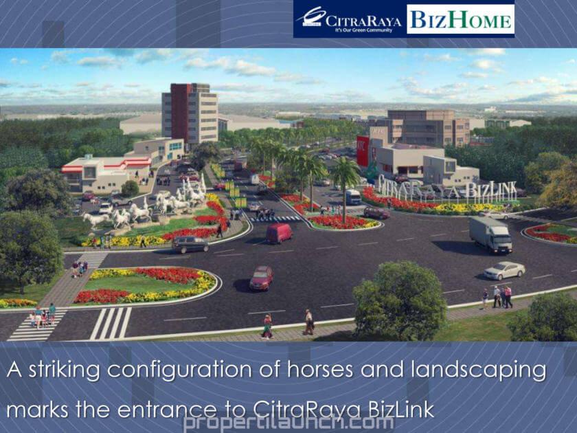 CitraRaya BizLink Gate