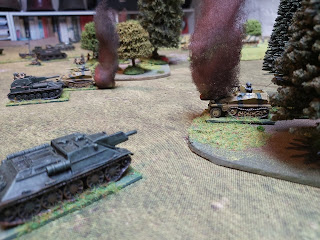 The Soviet tank destroyers cause even more casualties