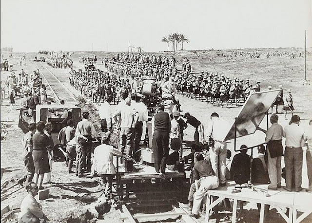 El rodaje de Lawrence de Arabia en España