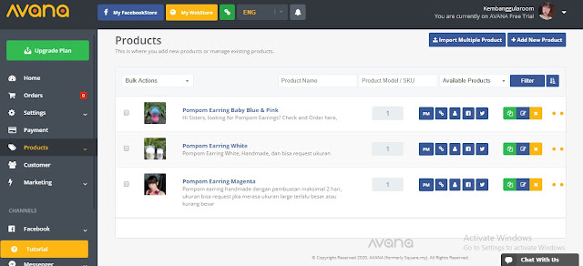 avana social commerce