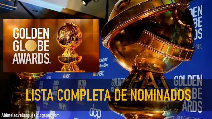 LISTA COMPLETA DE NOMINADOS A LOS GOLDEN GLOBE 2021