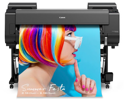 New Canon imagePROGRAF GP Series Large Format Printers