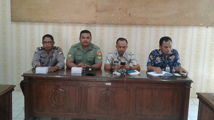 Hadiri Rakor Bulan Juli 2019 Kecamatan Bantarsari, Serka Suwarno Siap Seleksi Paskibra