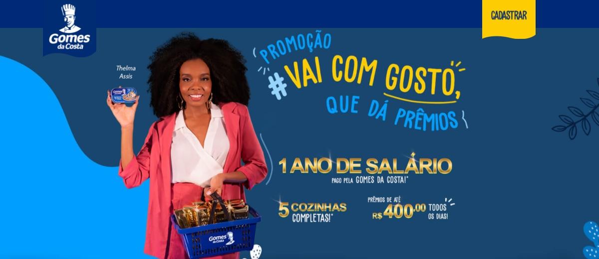 Participar Nova Promoção Gomes da Costa 2021 - Cadastrar, Prêmio 10 Mil e Ganhadores