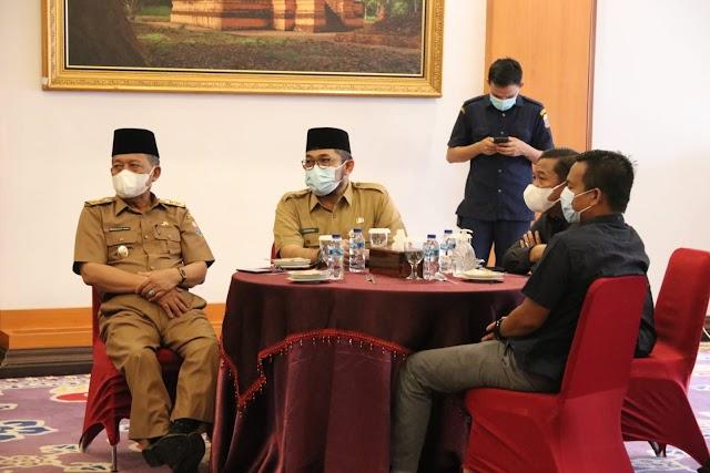 Undang Anggota DPRD Coffee Morning,  Gubernur Al Haris Minta Dukungan Bangun Jambi
