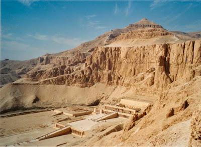 Templo de Deir el-Bahari  de Hatshepsut