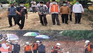 Canangkan PK MAN 4 Pekanbaru, Kakanwil dan Wawako Letakkan Batu Pertama Pembangunan Asrama