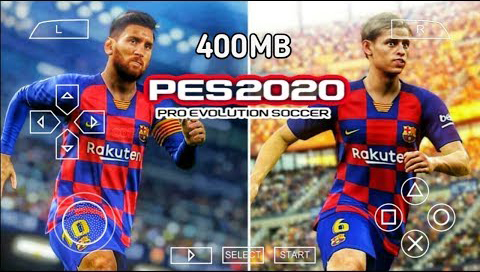 Download PES 2020 for Android with a PS4