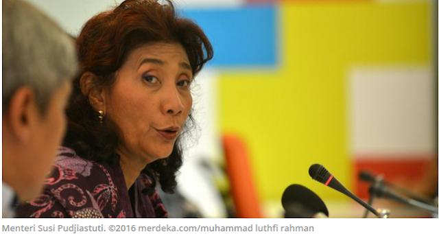 Menteri Susi Marah Disuguhkan Minuman Botol Plastik