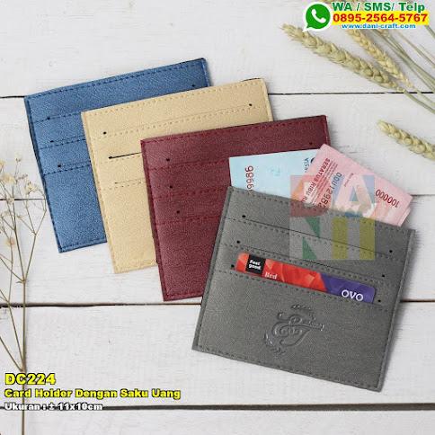 Card Holder Dengan Saku Uang