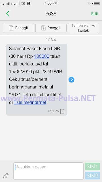 Begini Cara Daftar Paket Internet Telkomsel 6 GB Per 30 Hari